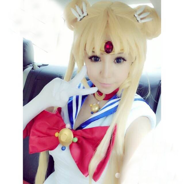 "To be or not to be ? i decided to play sailor moon this halloween night this year ! you want ?  shop from http://www.sanrense.com/ and use coupon code ""cutekawaii"" for 10% off"