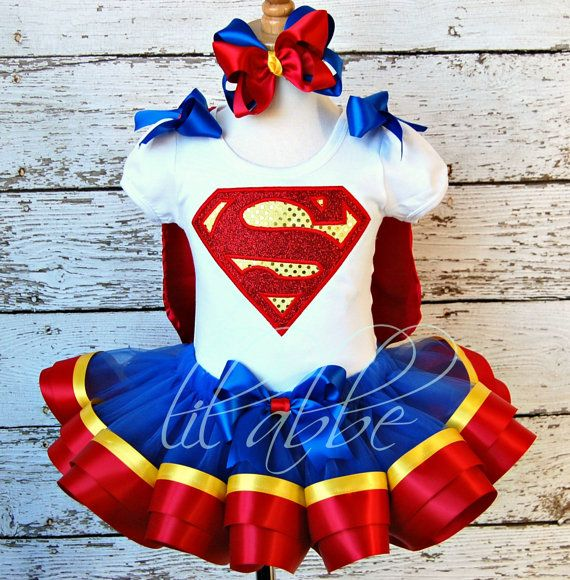 Superman tutu