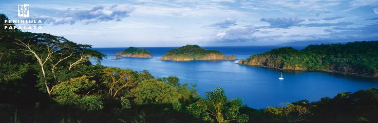 Papagayo Landscape and Yes the water is that Blue!