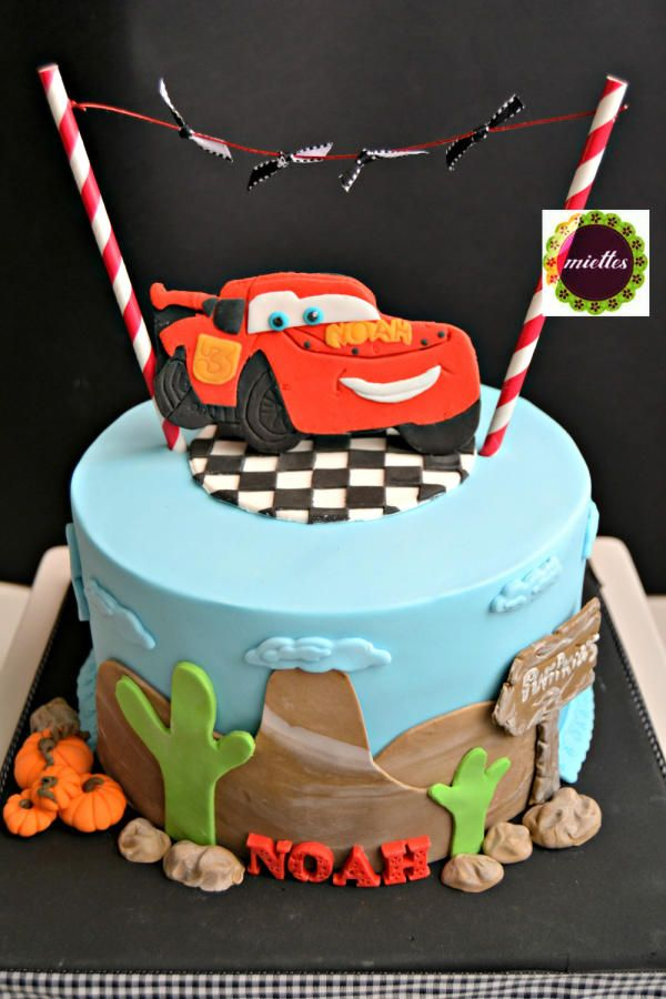 93 best FLASH MCQUEEN images on Pinterest Car cakes Birthday