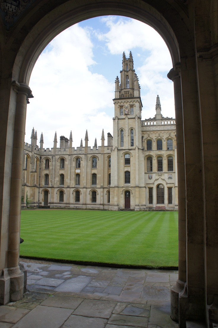 One of the colleges of Oxford University