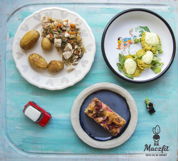 Dla najmłodszych przygotowaliśmy Kid Box - zestaw trzech zbilansowanych posiłków! #kid #children #meal #food #posiłek #menu #dla #dzieci #mniam #pycha #ciasto #placuszki #młode #ziemniaki