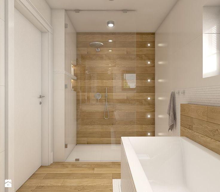 Dom w Opolu - Średnia łazienka, styl nowoczesny - zdjęcie od WERDHOME - homebook
