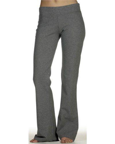 Womens flare yoga pants-6610