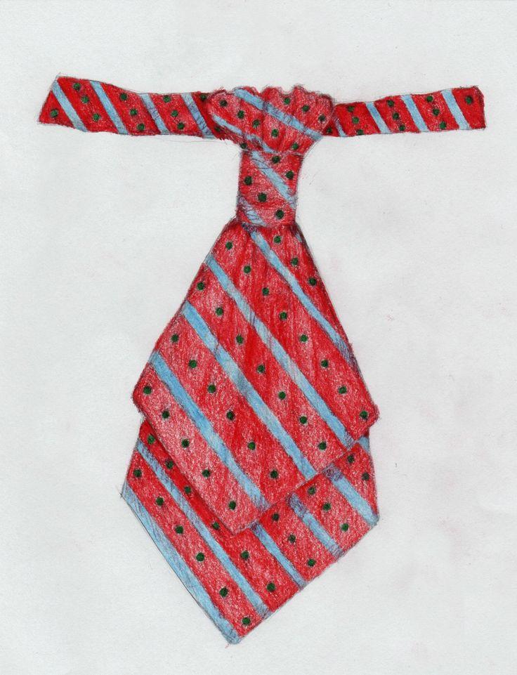 Nyakkendő - Varga Anita rajza