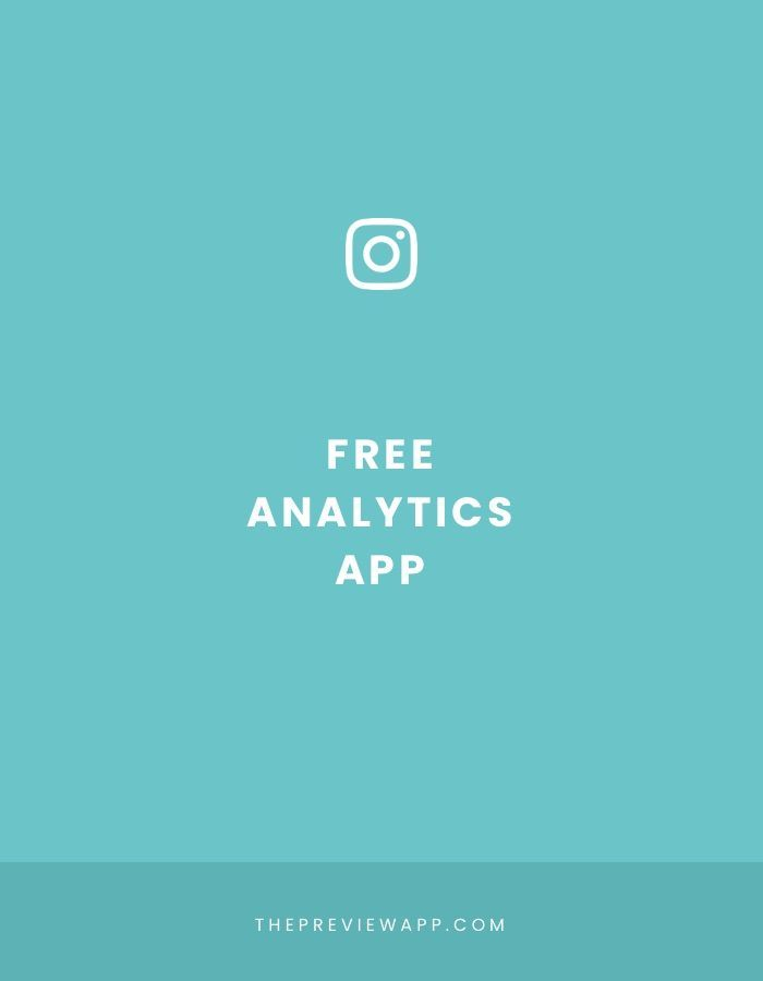 Free Instagram Analytics app: Preview - Preview App