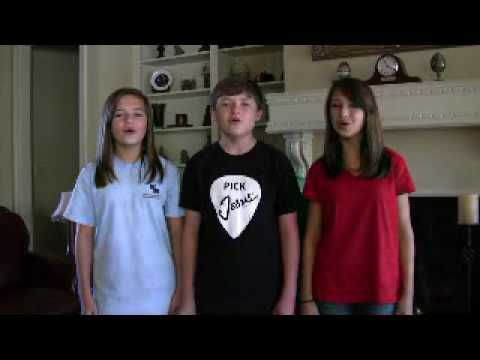 Amazing Child Singers - Daves Highway performs Amazing Grace - My Chains Are Gone by Chris Tomlin