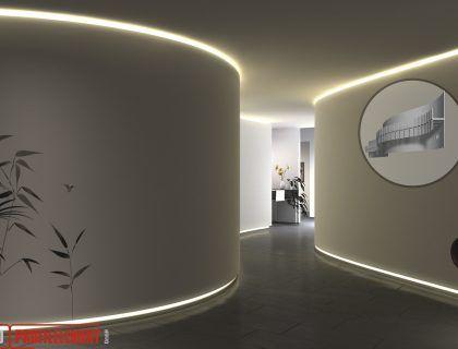 10 besten Indirekte Beleuchtung mit LED Bilder auf Pinterest - hotelzimmer design mit indirekter beleuchtung bilder