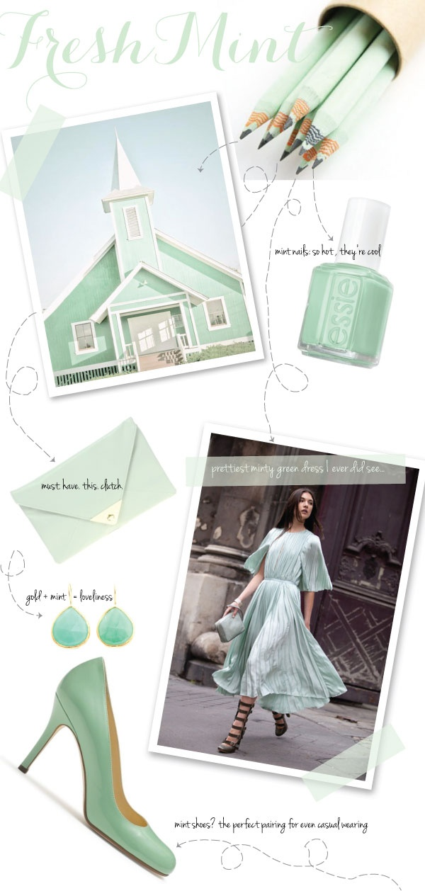 Mint: Seja Bem Vinda, Kraft Colors, Mint Green, Bem Vinda Dama, Mint Parties, Green Apples, Mint Conditioner, Colors Palettes, 3 Mint