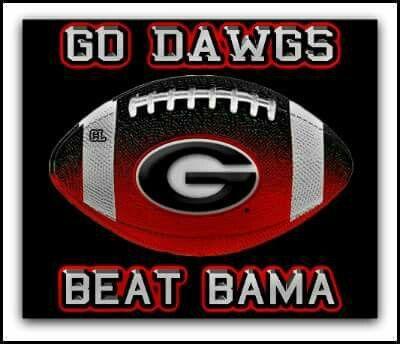 b2147517101 Beat Bama | GO DAWGS~♥♥~~♥♥~.·:*¨¨*:·.♥.·:*:·.♥.·:*¨¨*:·. | Georgia bulldogs  football, Ga bulldogs football, Bulldogs football