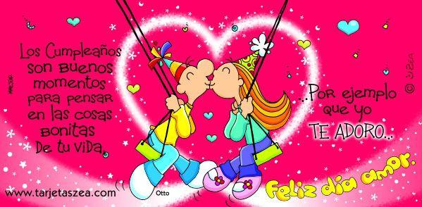 Frases De Amor Para Aniversario: Tarjetas Feliz Aniversario Amor