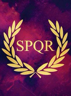 SPQR  Campamento Jupiter Senātus Populusque Rōmānus,  «el Senado y el Pueblo Romano».