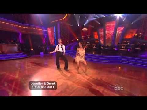 Jennifer Grey & Derek Hough - Jive, Week 2