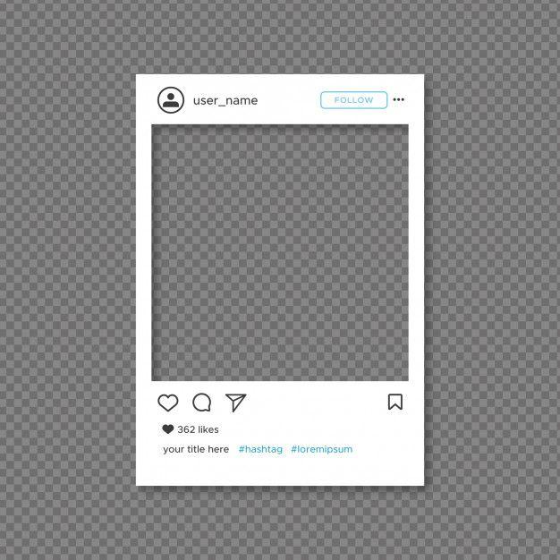 instagram picture frame - 626×626