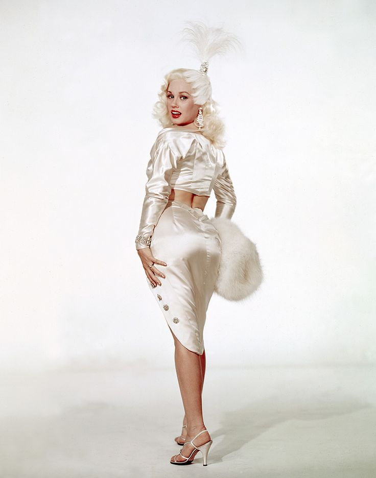 Mamie Van Doren - 'Teacher's Pet' - 1958    Wardrobe by Edith Head