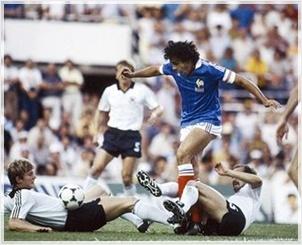 Francia Germania 3-3: Platini