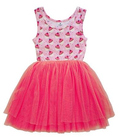 Curious Wonderland Cupcake Tulle Dress