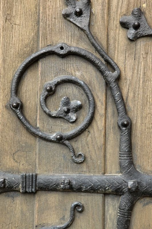wrought iron hinge by yy_sky