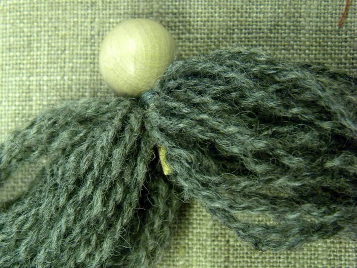 Yarn Tonttu Step 2- body  D a n c e s W i t h W o o l: December - Day 9