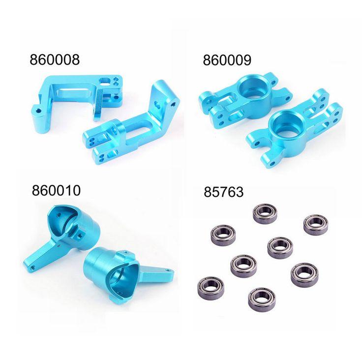 $5.03 (Buy here: https://alitems.com/g/1e8d114494ebda23ff8b16525dc3e8/?i=5&ulp=https%3A%2F%2Fwww.aliexpress.com%2Fitem%2FHSP-1-8-Upgrade-Parts-860008-860009-860010-85763-Aluminum-R-F-Hub-Carrier-Steering-Carrier%2F32778974430.html ) HSP 1/8 Upgrade Parts 860008 860009 860010 85763 Aluminum R/F Hub Carrier Steering Carrier Bearings 16*8*5 For 1/8 RC Hobby Car for just $5.03