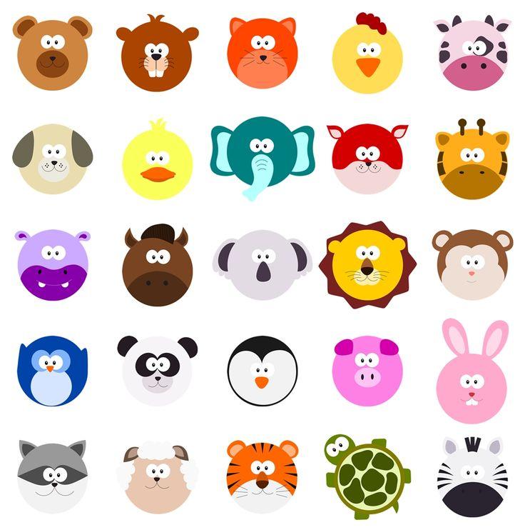 what madeleine loves: Animals Set 02