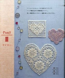 Tina's handicraft : 28 free patterns for harts  motifs  , granny squar...