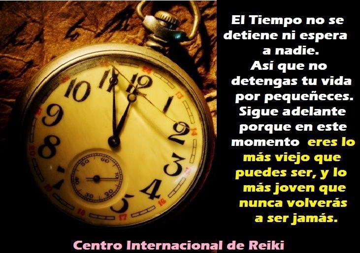 ► EL TIEMPO NO SE DETIENE ....