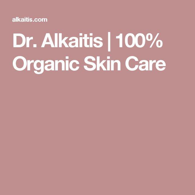 Dr. Alkaitis | 100% Organic Skin Care