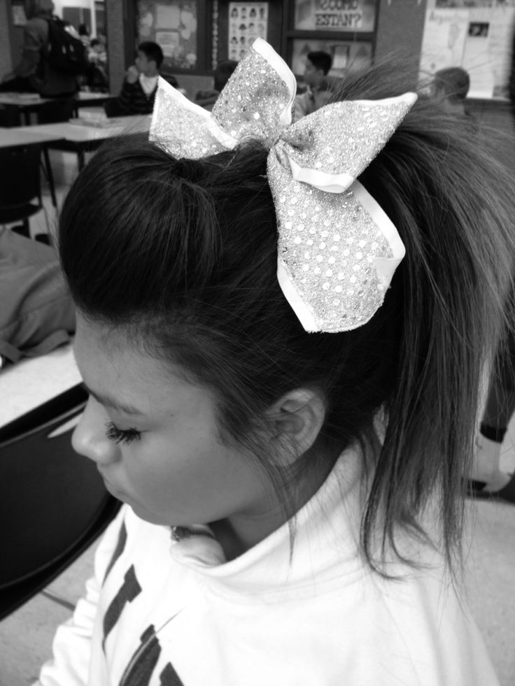 #cheerhair #cheer #snooki #bump #cheer addict #hair #cute #cheerleader #cheergirl #girly #updo #bangs #ombre #straight