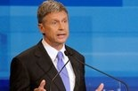 gary johnson shut out of presidential debate between romney and obama...
