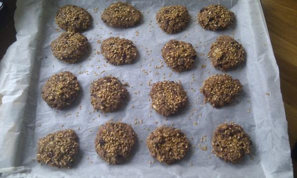 Rugstykker med chokolade (mad-kopi fra Lagkagehuset)