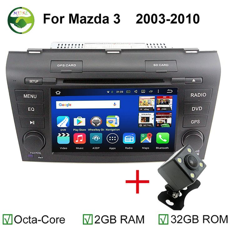 "Octa Core RAM 2GB/32GB 2 Din 7"" Android 6.0 Car DVD Player For Mazda 3 Mazda3 2003-2010 With GPS 4G WiFi Stereo Video Player"