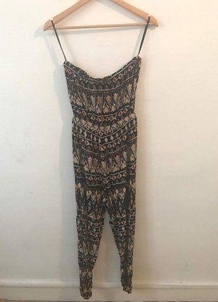 À vendre sur #vintedfrance ! http://www.vinted.fr/mode-femmes/autres-combinaisons-and-combishorts/26838562-combinaison-bustier-azteque