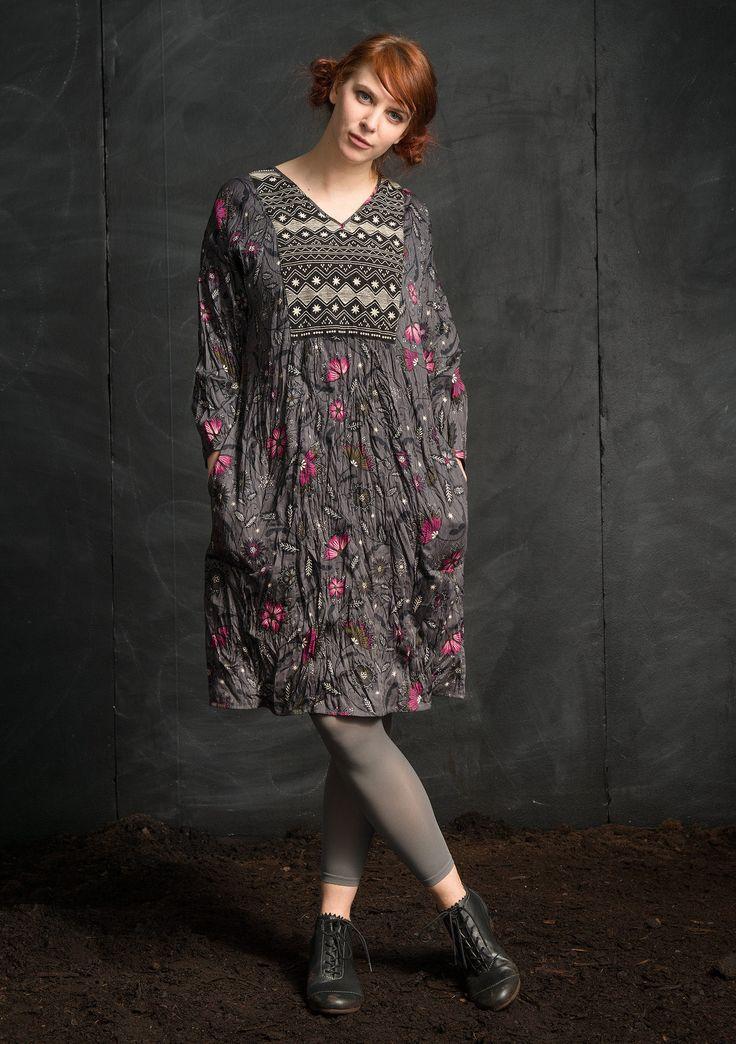 midvinter dress in eco cotton theme iceland gudrun sj d n webshop mail order and. Black Bedroom Furniture Sets. Home Design Ideas
