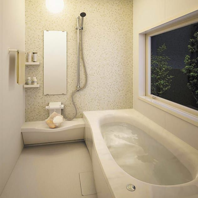 浴室をユニットバスにするメリットは Homify 2020 ユニットバス バスルーム おしゃれ バスルーム インテリア