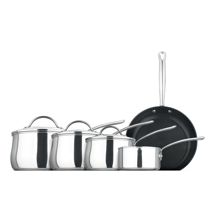 Prestige Bell Shaped 5 Piece Cookware Set