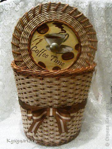 Decoración artículos de artesanía de mimbre Decoupage producto de la cesta + un regalo frascos Papel prensa cera de parafina Yeso Duct Tape Servilletas de papel foto 1