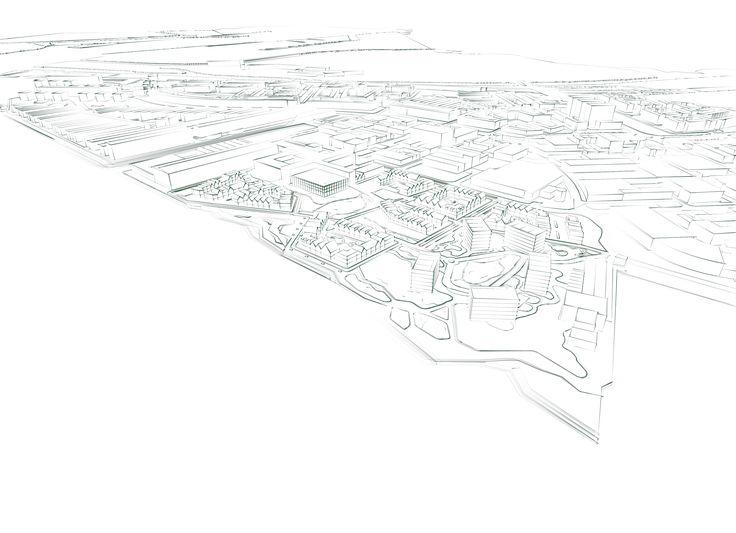 Schets ontwerp stedenbouwkundig plan