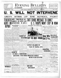 Read 100 year old newspapers online from the Library of Congress.