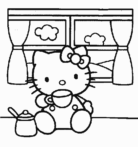 Riscos para Pintura em Tecido.Desenhos para Colorir.: Kitty Parties, Kitty Color, Kitty Para, Desenho Para Colorir, Hello Kitty, Coloring, Hellokitti Color, Color Book, Color Pages