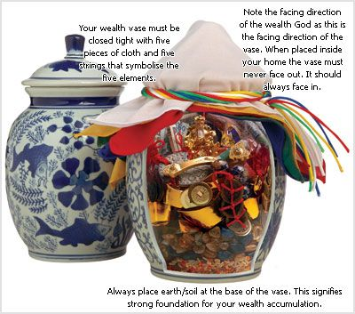 Feng Shui Wealth Vase – Master Jancy Tan, Feng Shui Today Magazine