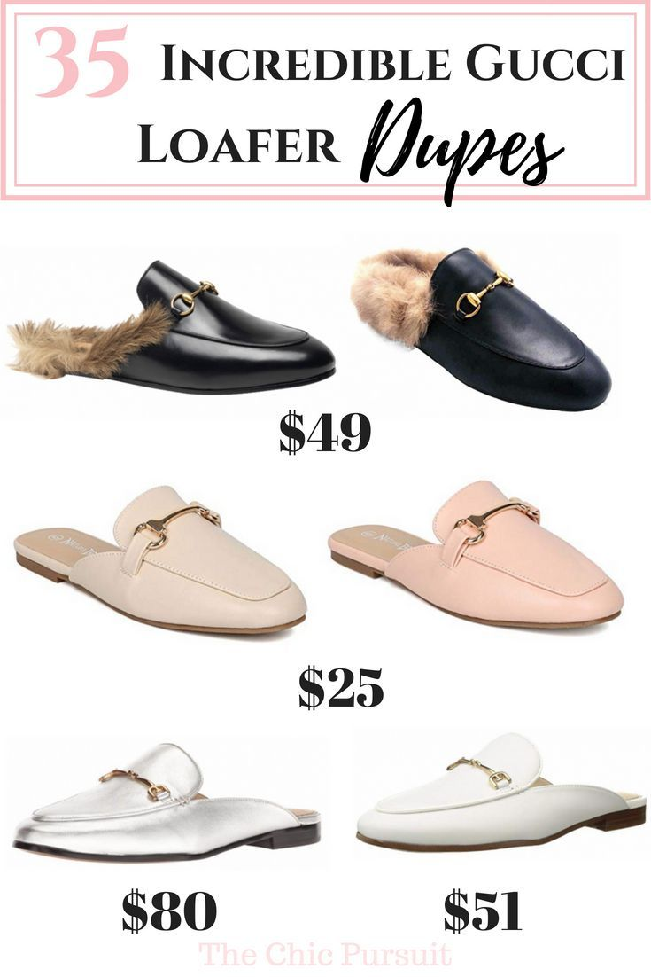 d6cdf66705a 35 Incredible Gucci Loafer Dupes - Best Of Designer Dupes (From  20)! Get  the Gucci Princeton and Brixton shoe look with or without fur