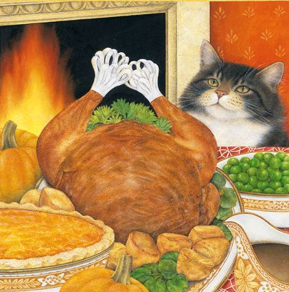 """""""Turkey Time"""" by Anne Mortimer."""