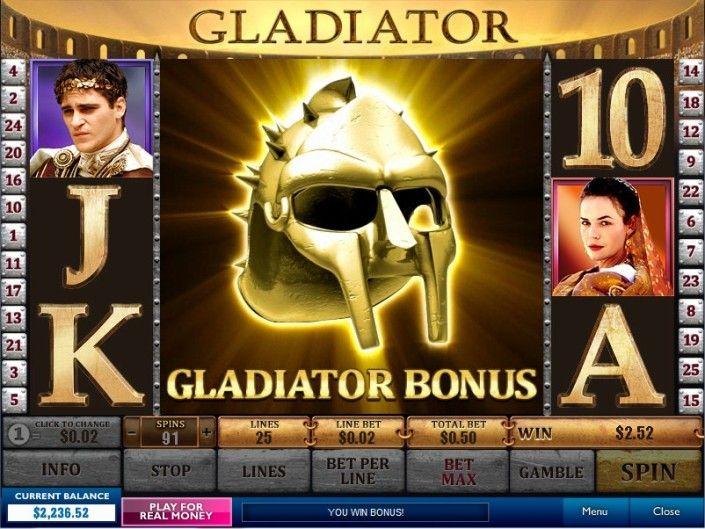 бесплатные игры казино гладиатор