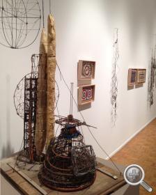 Artist Emery Blagdon | sampling of the blagdon works on display at the kohler arts center ...