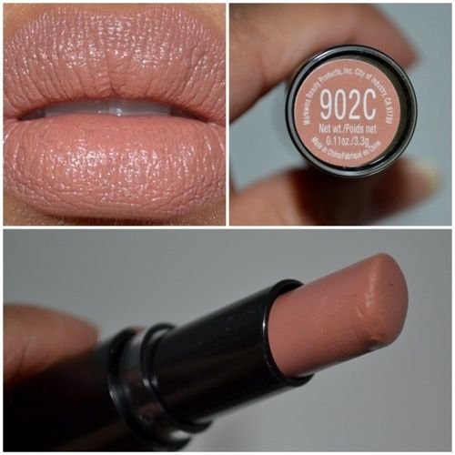 Good Neutral Color: Wet n Wild MegaLast Matte Lip Color in Bare It All - Another pinner wrote:I must admit, I was surprised at how good this lipstick worked.  The lipsticks are highly pigmented, long-lasting, and don't cake, feather, or bleed.  The best part?  They're only $1.99!!!!!  I want all of them!