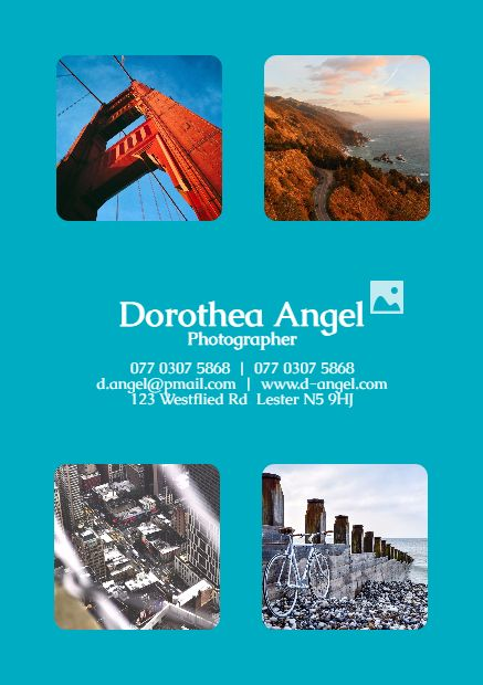 Make your own photo about Dorothea Angel Photographer 077 0307 5868  |  077 0307 5868 d.angel@pmail.com  |  ... on PixTeller