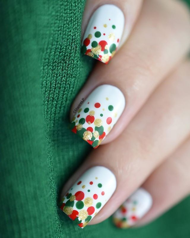 189 best Christmas nails images on Pinterest | Christmas nails, Nail ...