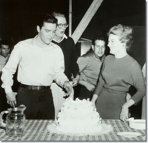 """.In 1961, while filming """"Wild In The Country"""", the cast and crew gave him a birthday party on the set and presented him with a plaque that read, """"Happy Birthday, King Karate."""""""