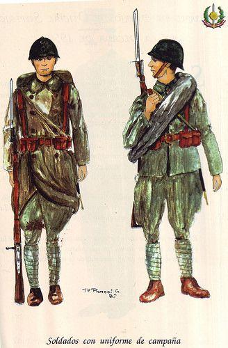 Uniformes de las FF.AA. Peruanas (1825-1980)